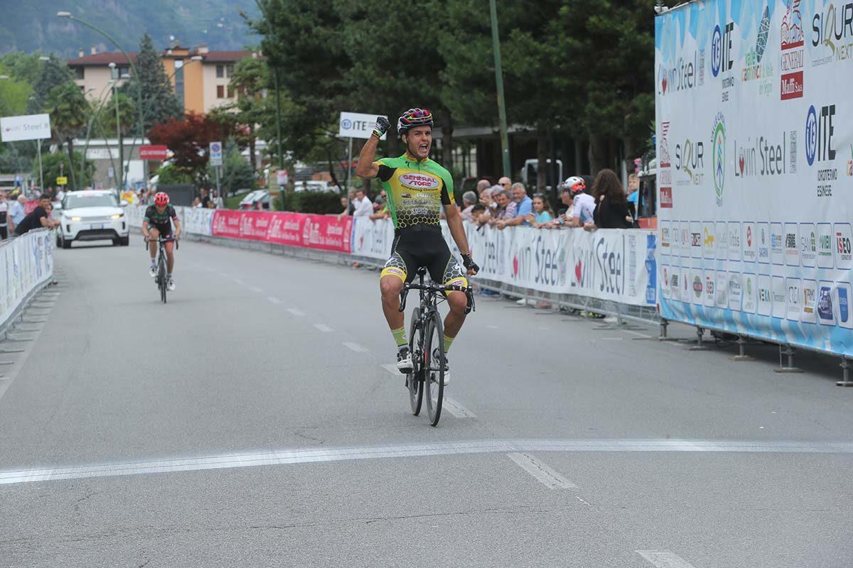 Francesco Di Felice vince a Darfo Boario Terme