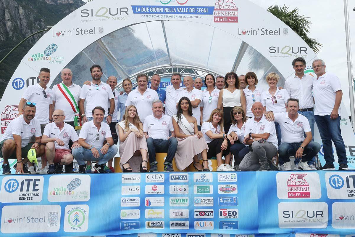 Lo staff organizzativo dell'As Boario (foto Soncini)
