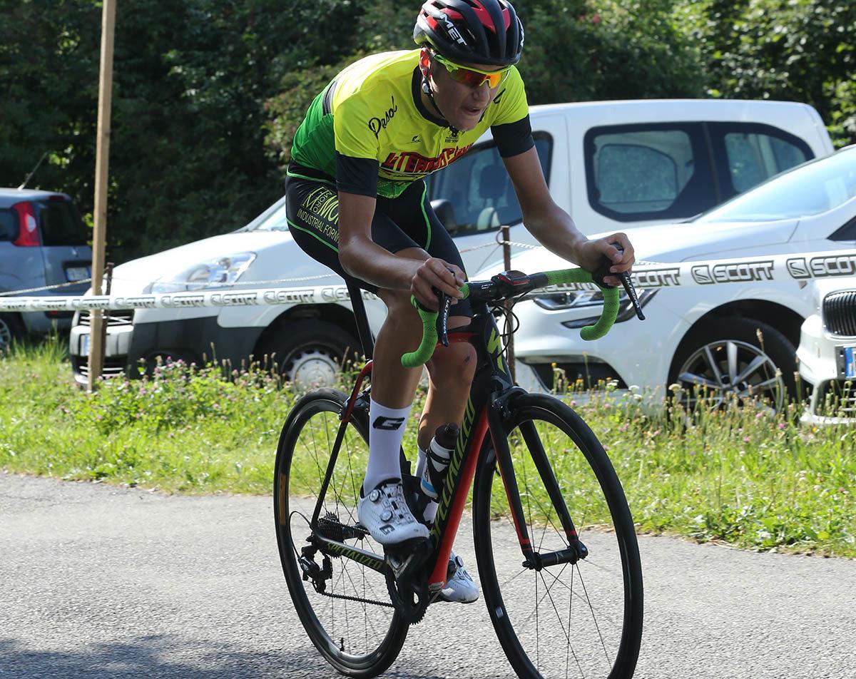Samuele Bonetto in azione (foto Soncini)