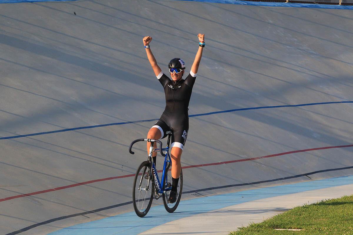 Beatrice Bertolini vince il Campionato Italiano Omnium Endurance Donne Esordienti 2019 (foto Fabiano Ghilardi)