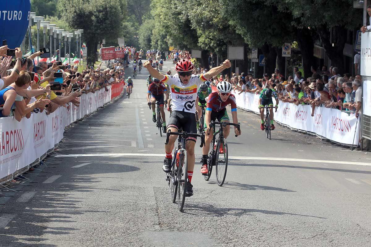 Franco Cazzarò vince il Campionato Italiano Esordienti 1° anno a Chianciano Terme (foto Fabiano Ghilardi)