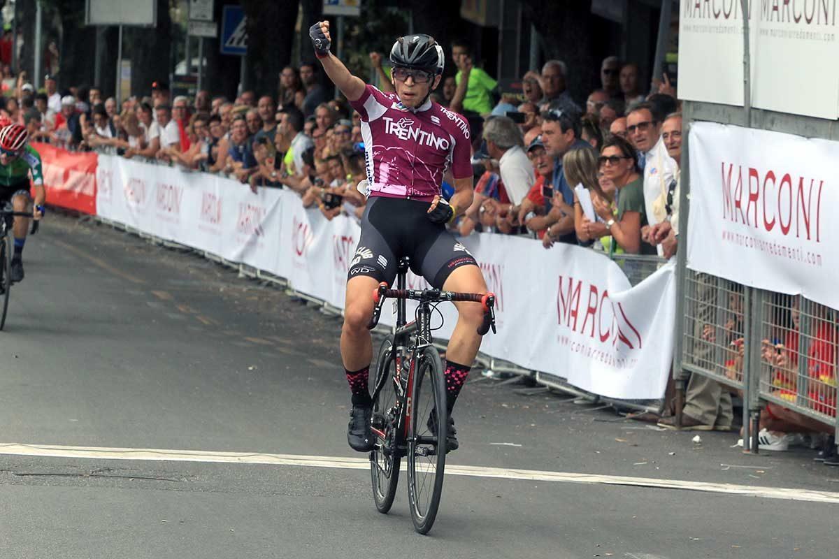 Thomas Capra vince il Campionato Italiano Esordienti 2° anno a Chianciano Terme (foto Fabiano Ghilardi)