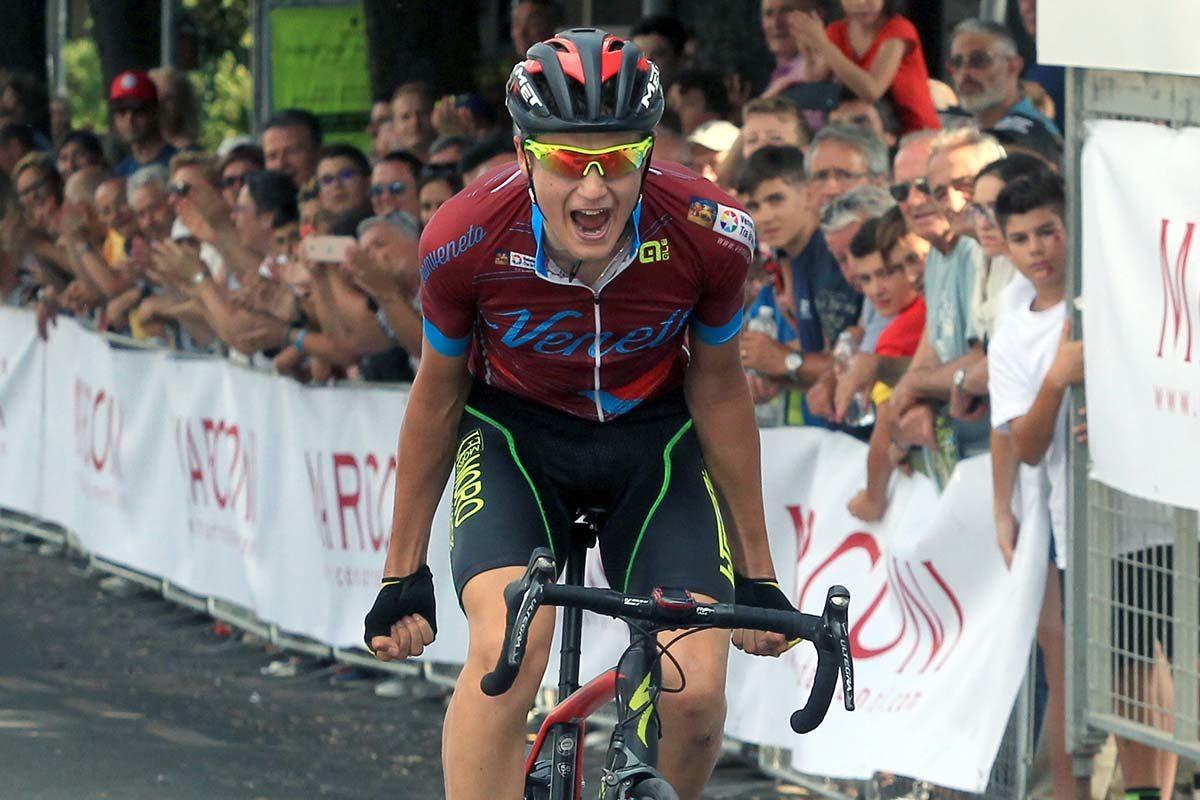 Samuele Bonetto è campione italiano degli Allievi a Chianciano Terme (foto Fabiano Ghilardi)