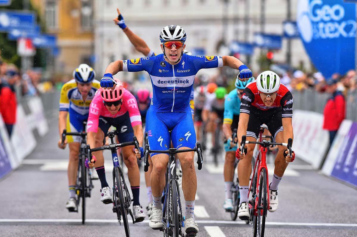 Alvaro Hodeg vince l'ultima tappa dell'Adriatica Ionica Race