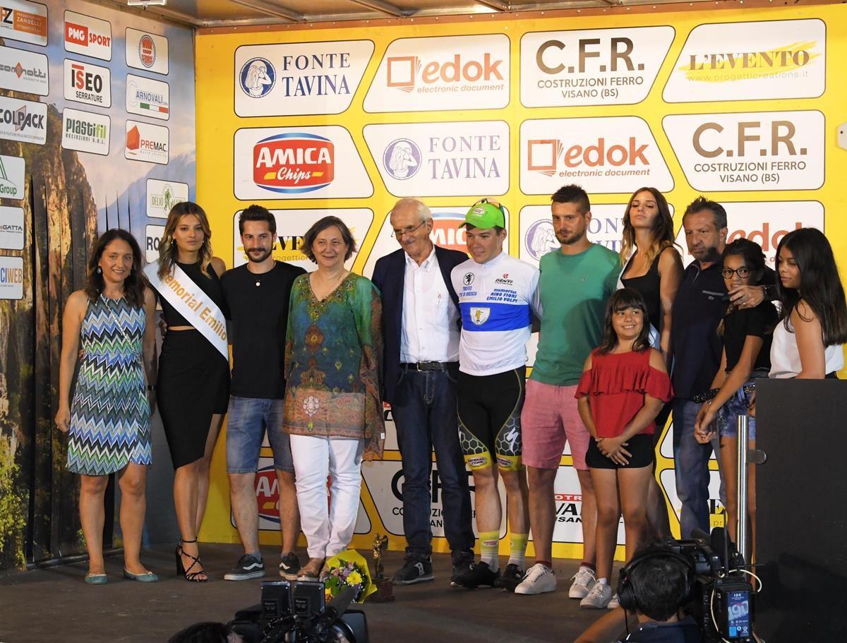 Le premiazioni del 56° Trofeo Città di Brescia (foto Rodella)