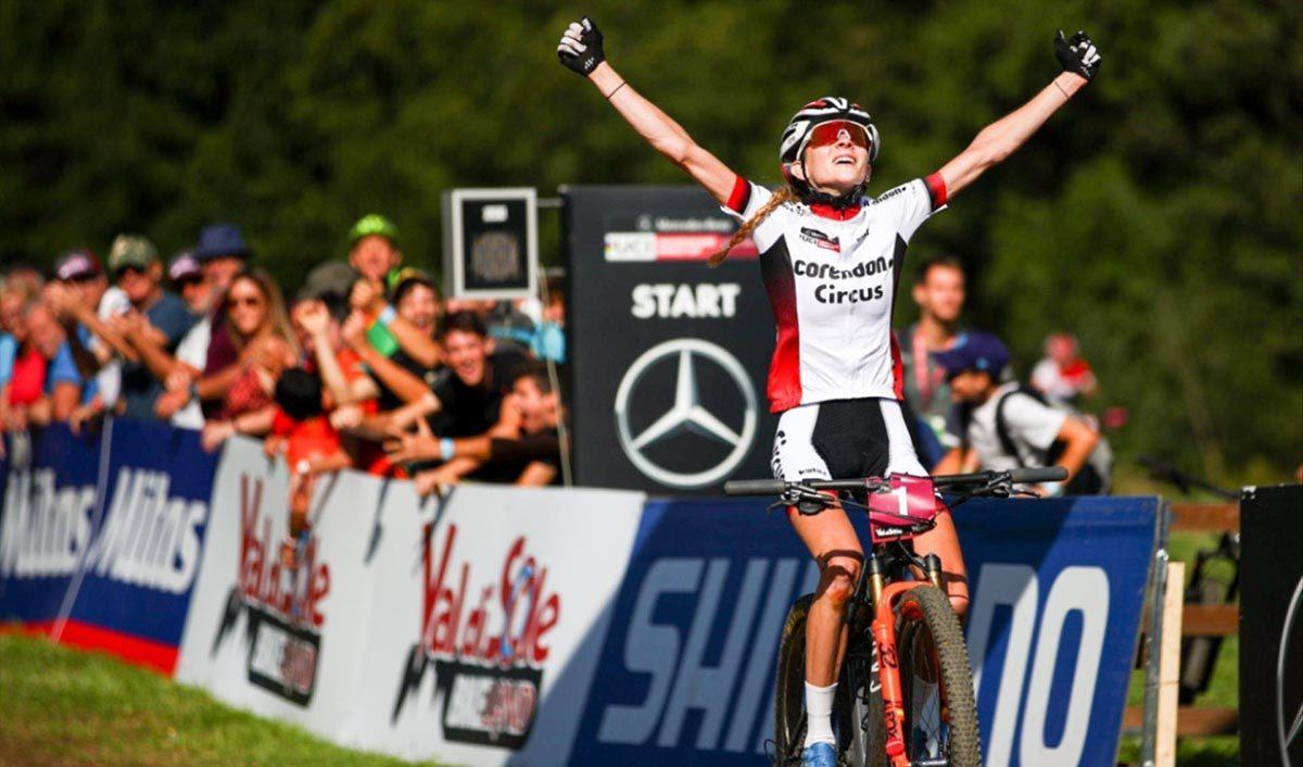 Ronja Eibl vince la prov Donne U23 in Val di Sole