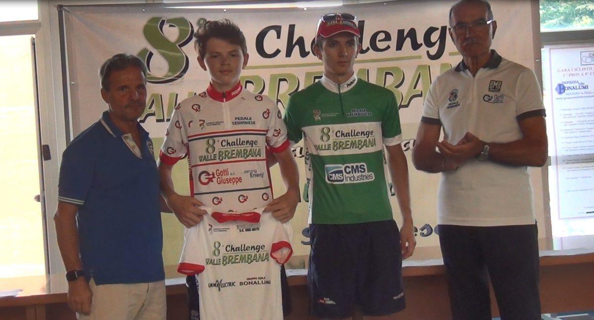 I leader di classifica della Challenge Valle Brembana dopo la prima prova di Paladina