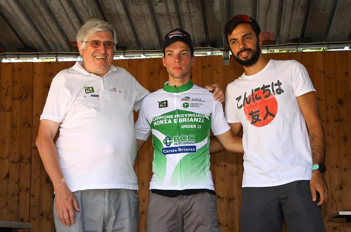 Davide Colnaghi campione provinciale di Monza e Brianza Under 23 (foto Berry)