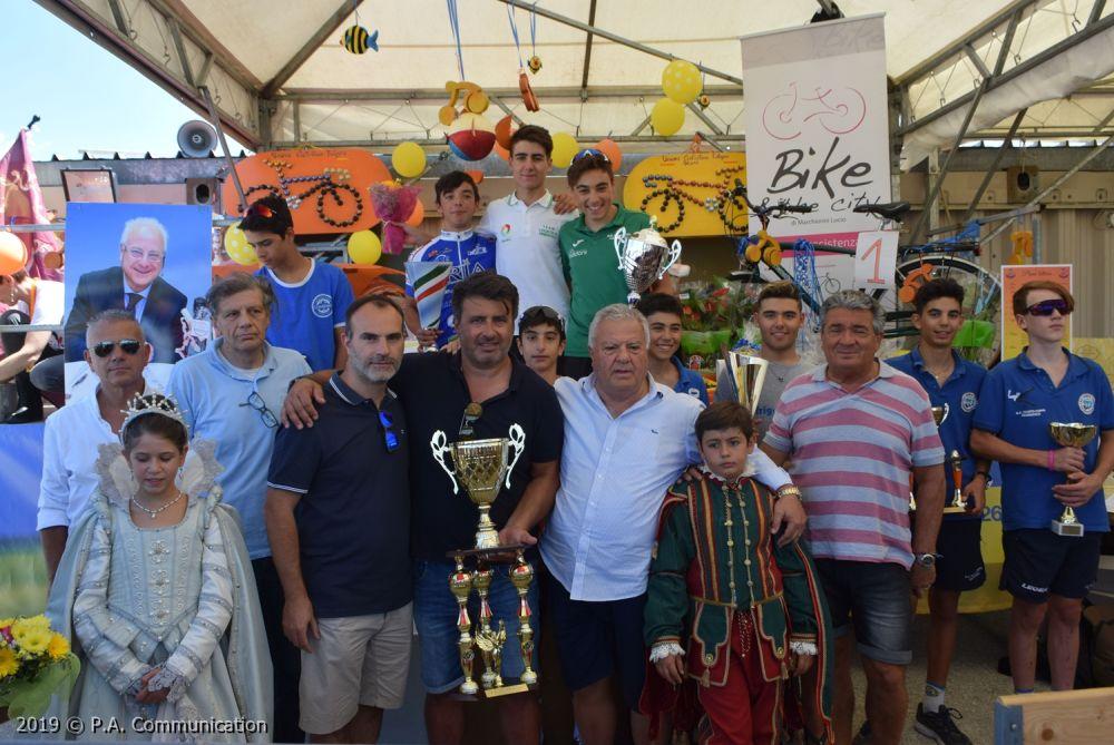 Il podio Esordienti 2° anno di Foligno