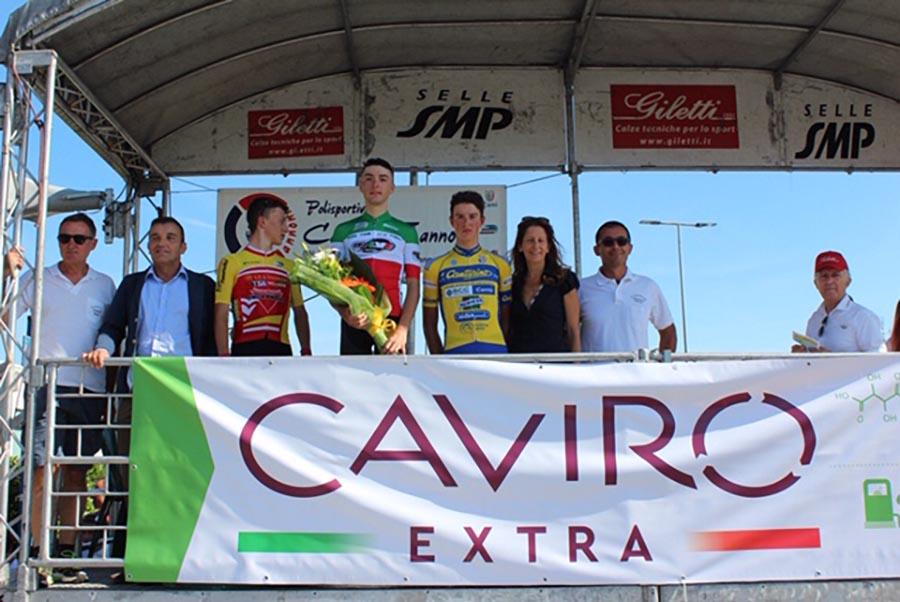 """Il podio di """"Sulle strade del Passatore"""", Trofeo Caviro Extra e GP Moreno"""
