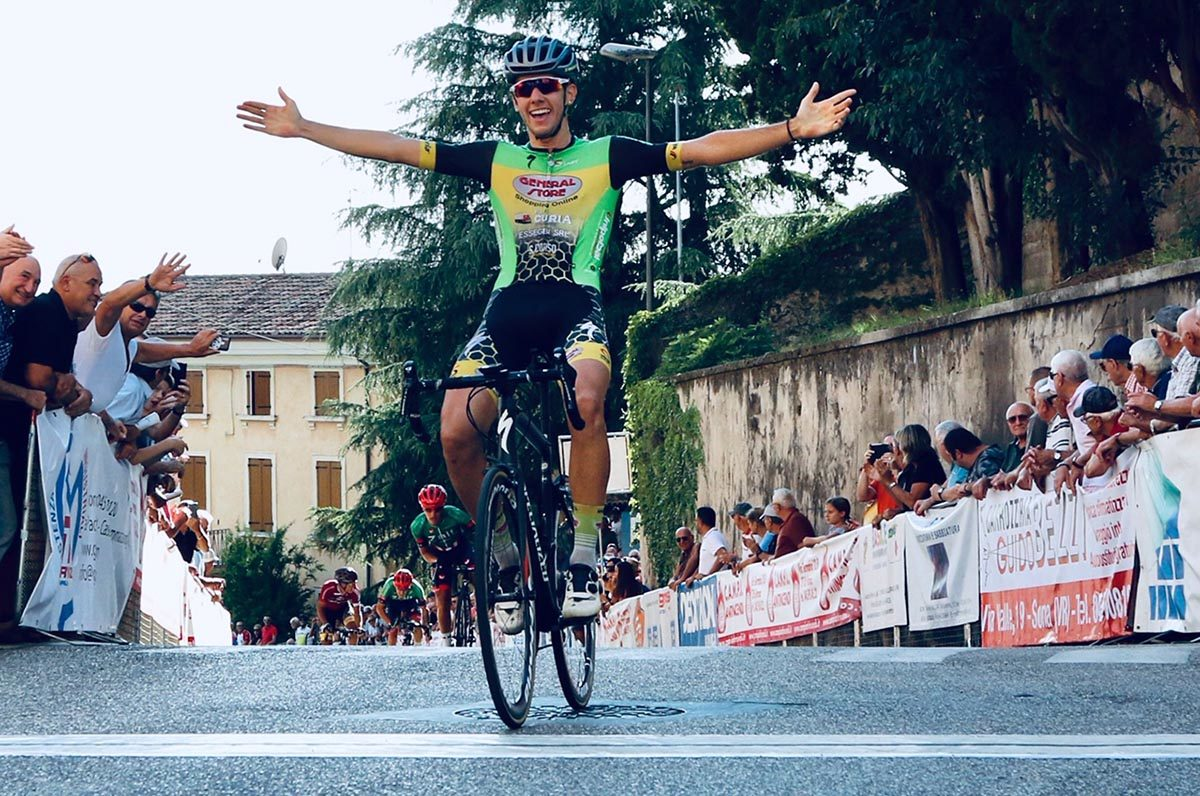 Tommaso Rigatti vince il Gp San Luigi di Sona (foto Photobicicailotto)