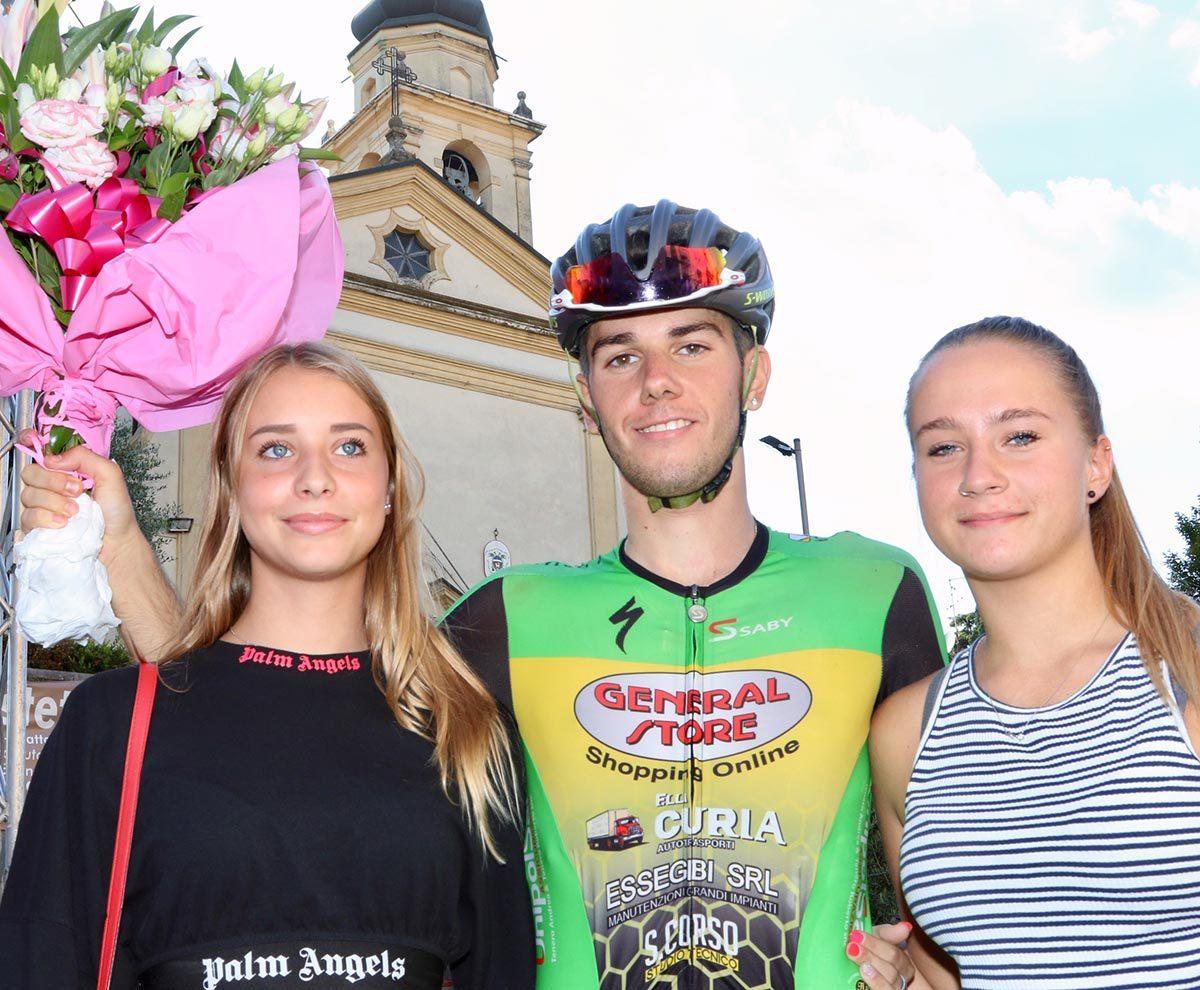 Tommaso Rigatti vincitore del Gp San Luigi di Sona (foto Photobicicailotto)