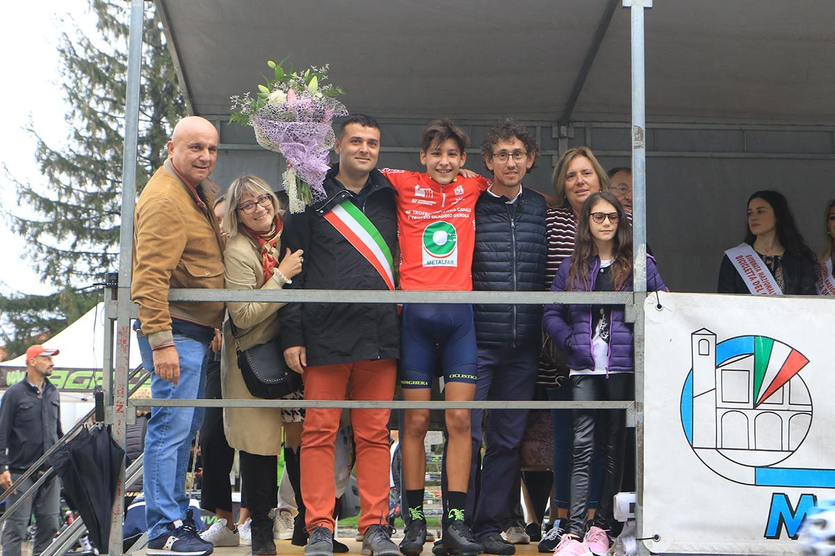 L'esordiente Samuele Privitera vincitore della Lambrugo - Ghisallo (foto Fabiano Ghilardi)