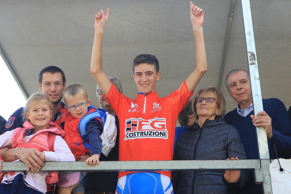 Ludovico Crescioli vincitore della Albese-Ghisallo 2019 (foto Fabiano Ghilardi)