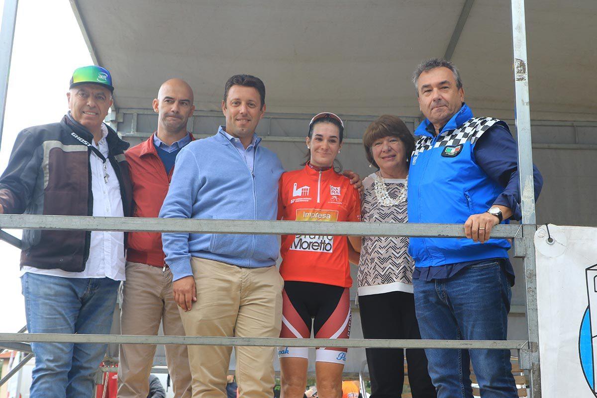 Francesca Barale per il secondo anno di fila vince la Cesano-Ghisallo (foto Fabiano Ghilardi)