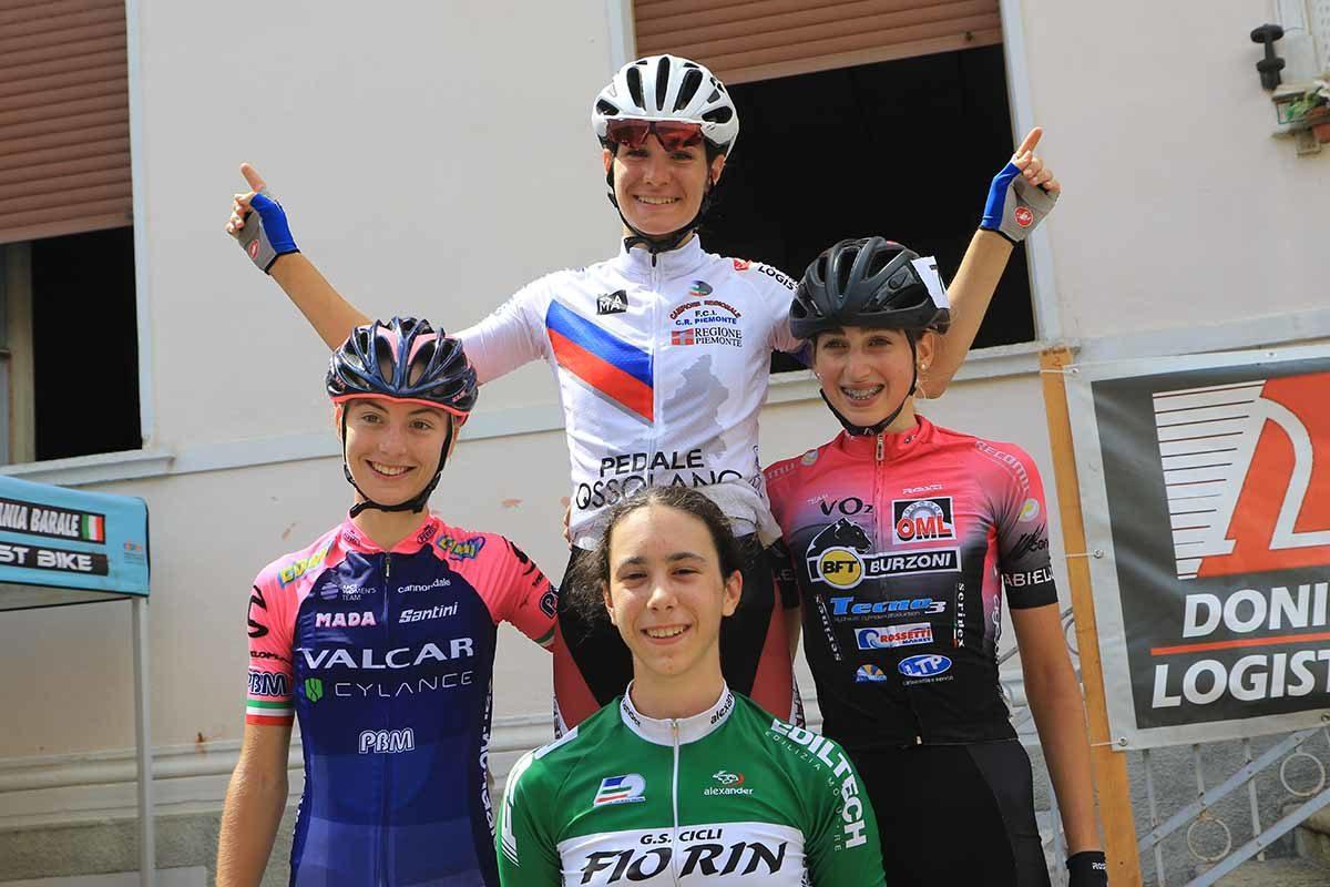 Le protagoniste della gara femminile di Fomarco (foto Fabiano Ghilardi)