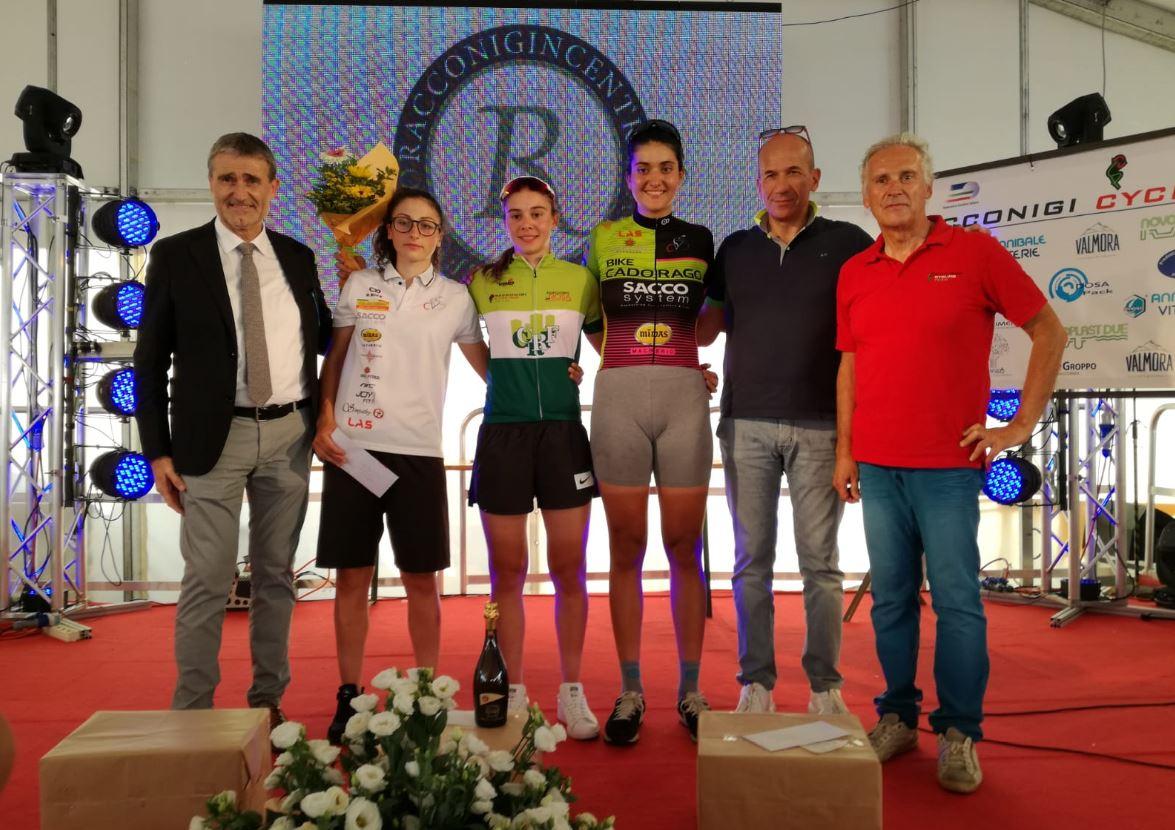 La premiazione finale Donne Junior a Racconigi (foto Fabiano Ghilardi)
