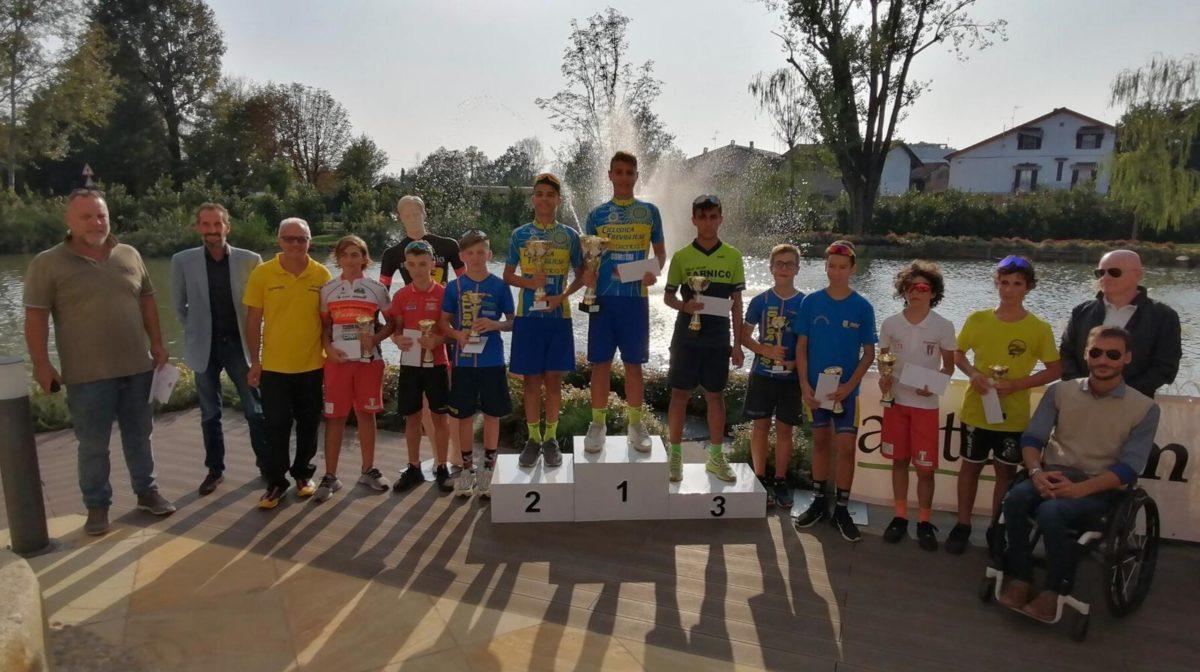 La premiazione della gara Esordienti 1° anno di Fornovo San Giovanni