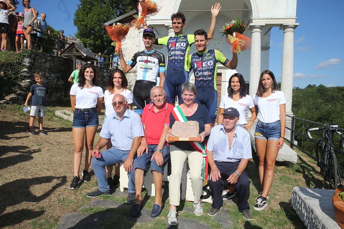 La premiazione del Trofeo Sportivi di Briga Novarese 2019 (foto Soncini)