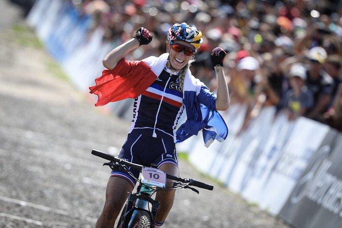 Pauline Ferrand-Prevot vince il Mondiale XCO Donne Elite 2019