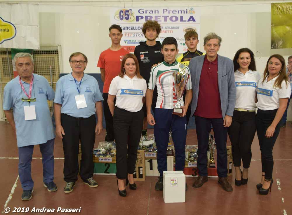 Nicolò Cardinali campione umbro Juniores 2019