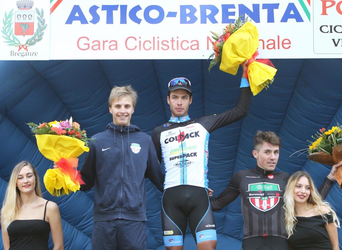 Il podio della Astico-Brenta 2019