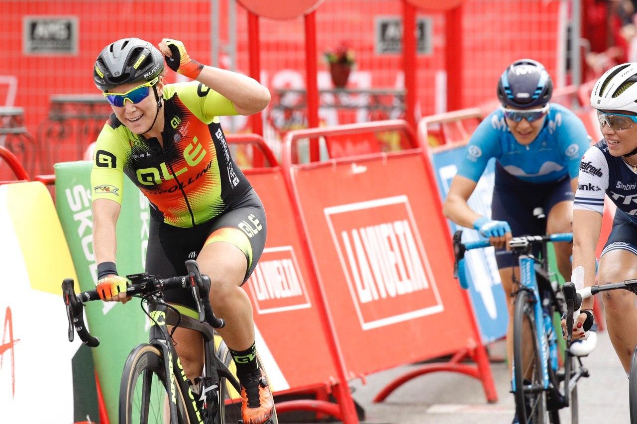 ChloeHosking vince la seconda tappa della Ceratizit Madrid Challenge by La Vuelta (foto Unipublic / Photogomez Sport)
