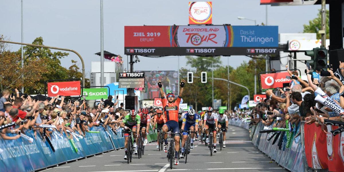 Sonny Colbrelli vince l'ultima tappa del Deutschland Tour