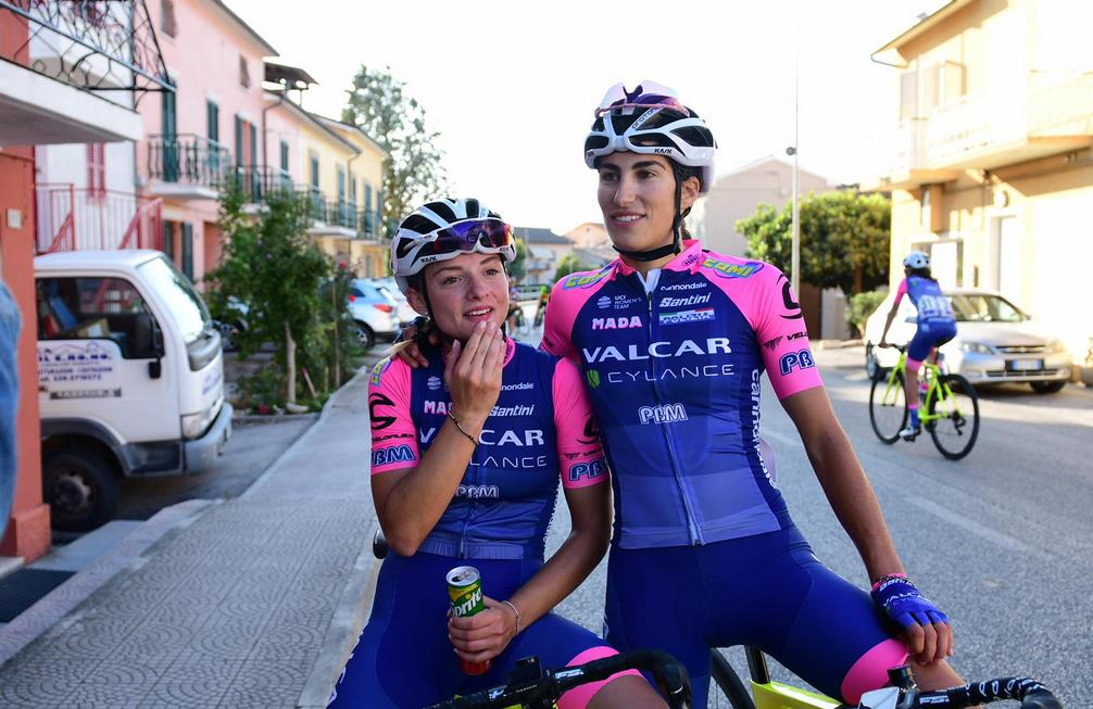Elisa Balsamo e Chiara Consonni (foto Twila Muzzi)