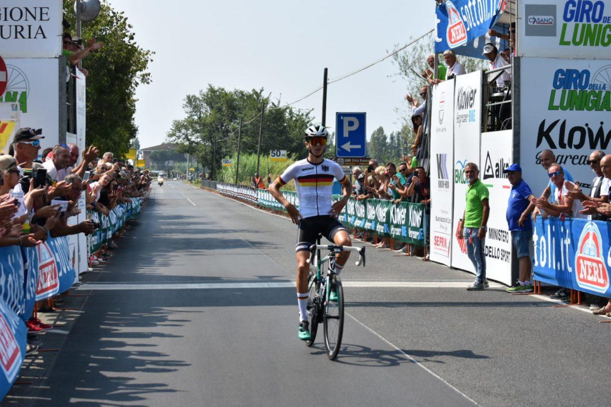 Marco Brenner vince l'ultima tappa del Giro della Lunigiana 2019