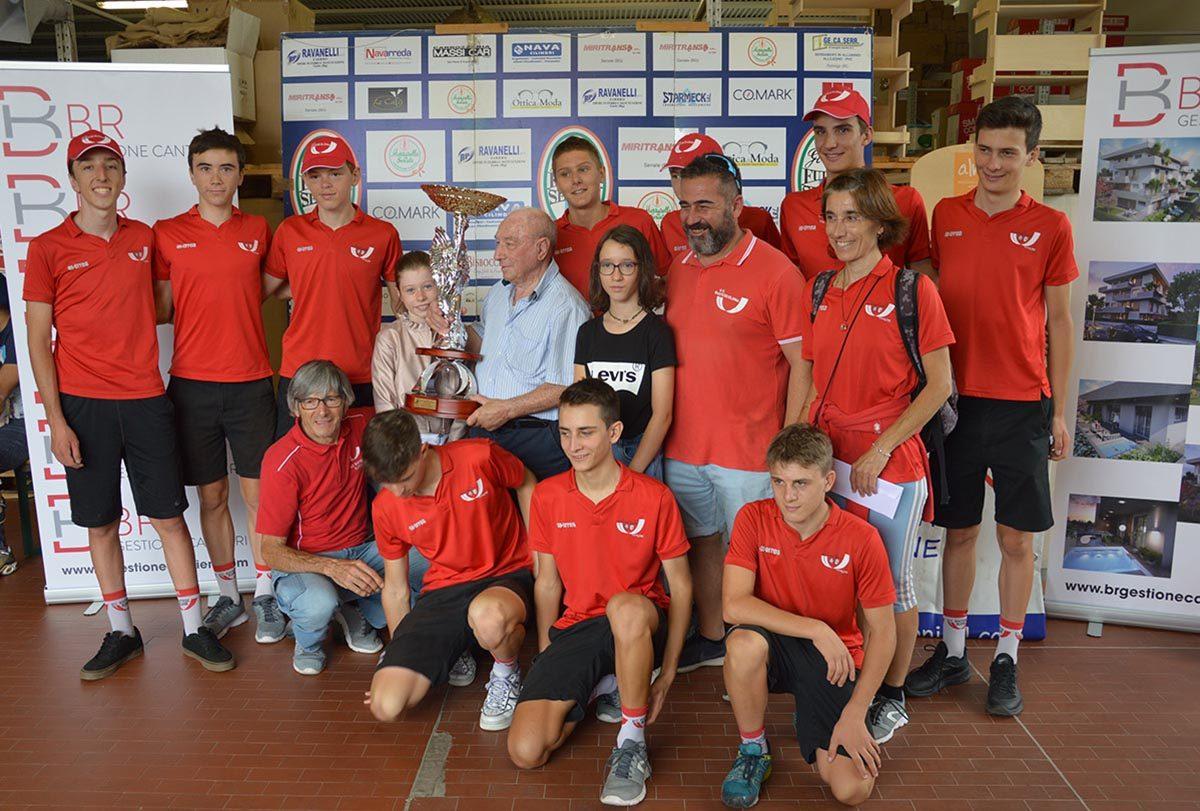 La Bustese Olonia vince anche il trofeo della migliore società (foto Roberto Amaglio/BICITV)