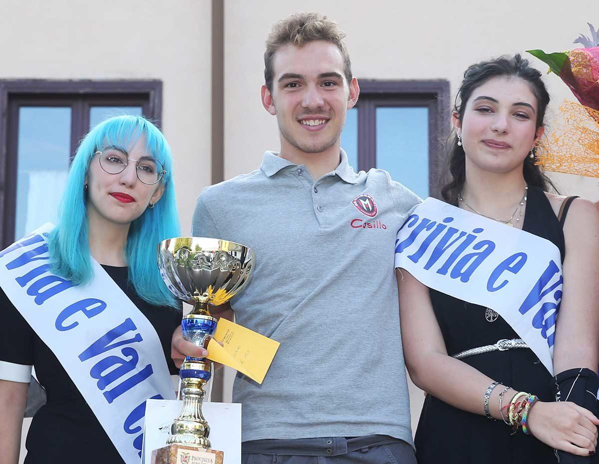 Luca Coati vincitore ad Alzano Scrivia (foto Rodella)