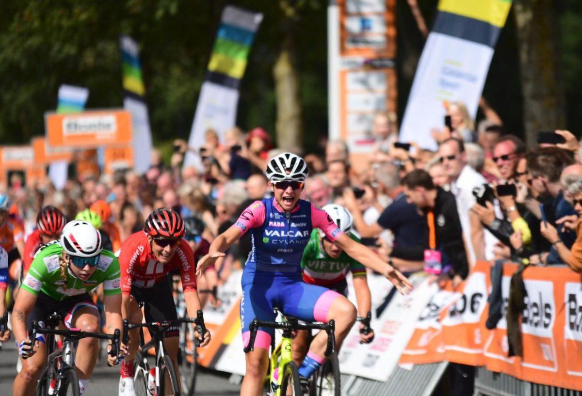 Chiara Consonni vince l'ultima tappa del Boels Ladies Tour 2019 (foto Twila Muzzi)