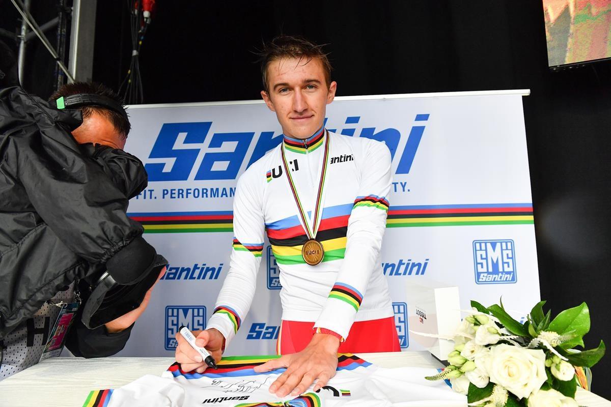 Mikkel Bjerg campione del Mondo Under 23 a cronometro 2019 (foto SWpix)