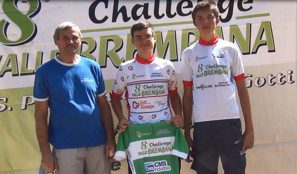 Le maglie della Challenge Valle Brembana dopo la prova di Brembilla