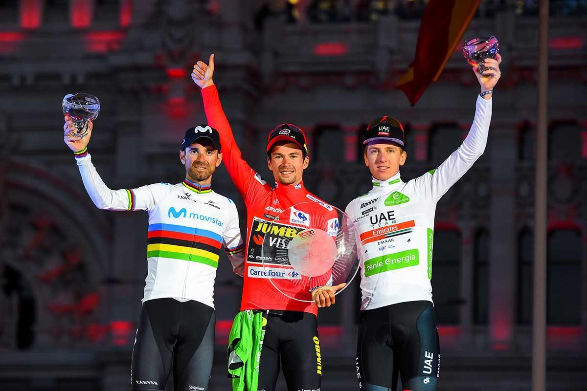 Il podio finale di La Vuelta Espana 2019 - (foto BettiniPhoto)