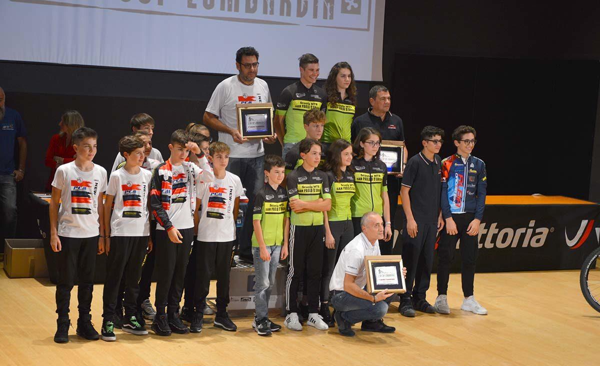 La MTB San Paolo d'Argon vince la classifica società di BG Cup Lombardia 2019
