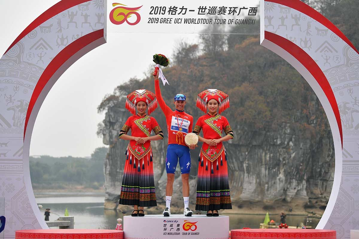 Enric Mas vince il Tour of Guangxi 2019 (foto Tim de Waele)