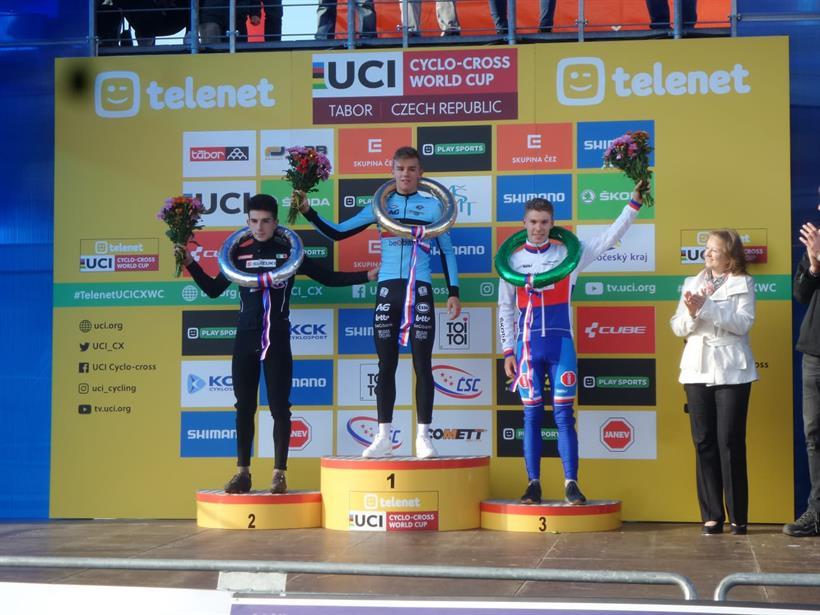 L'azzurro De Pretto sul podio di TaborL'azzurro De Pretto sul podio di Tabor