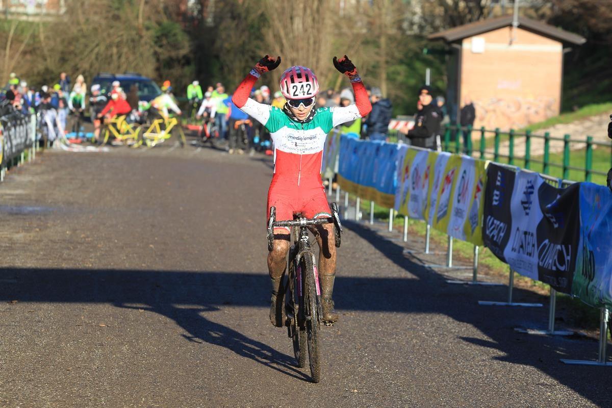 Beatrice Temperoni vince a Cremona (foto Fabiano Ghilardi)