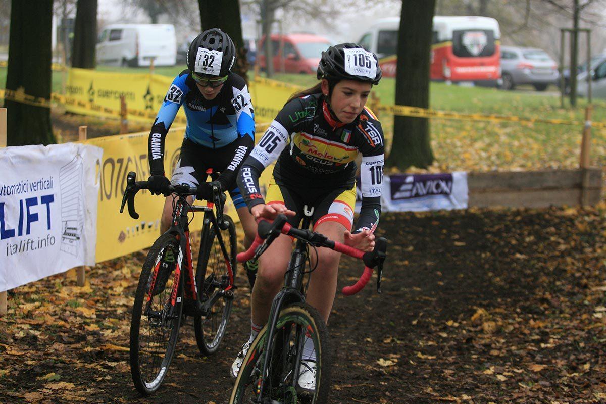 Valentina Corvi in azione nella gara Donne Allieve 1° anno del Gp Guerciotti (foto Fabiano Ghilardi)