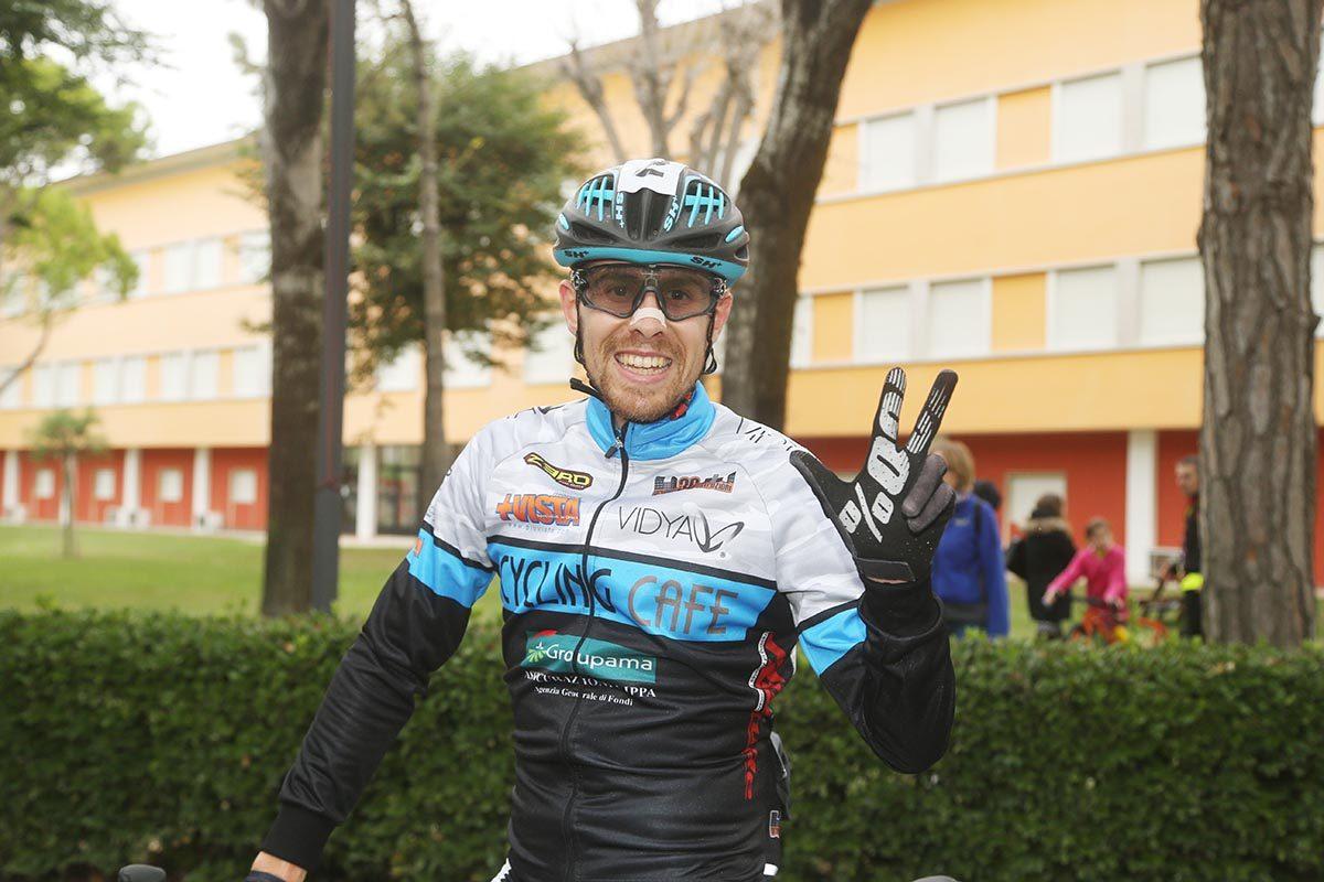 Terza vittoria per Cristian Cominelli a Jesolo (foto Soncini)