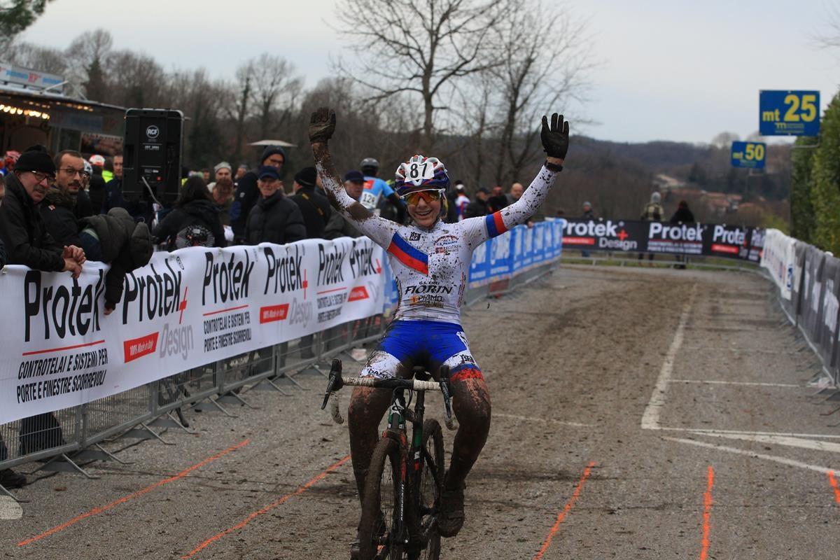 Anita Biama vince a Lurago d'Erba (foto Fabiano Ghilardi)