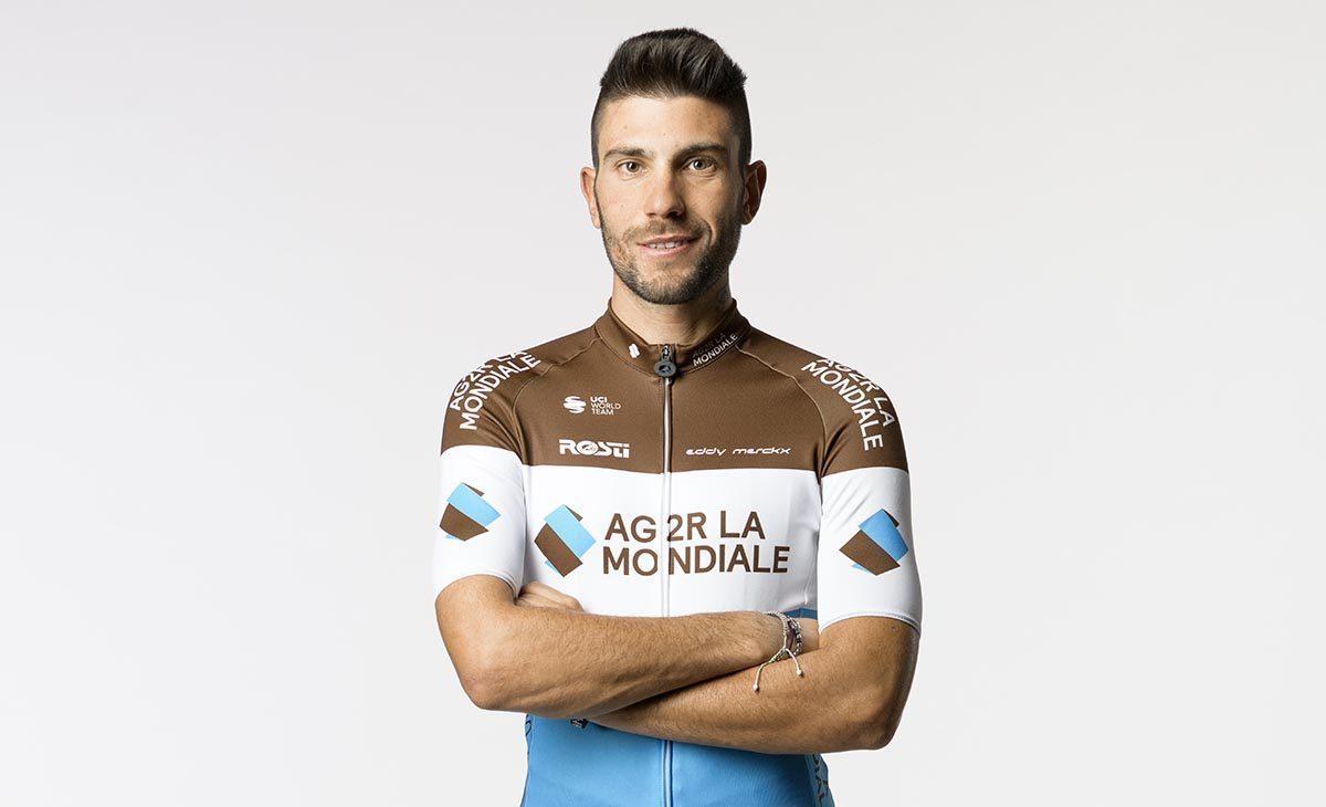 Andrea Vendrame con la maglia della AG2R La Mondiale (foto Vincent Curutchet)