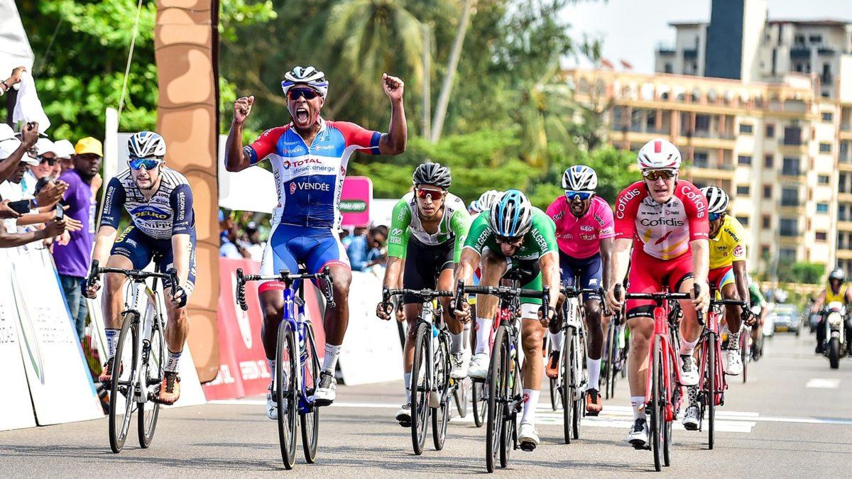 Lorrenzo Manzin vince la settima tappa di La Tropicale Amissa Bongo 2020