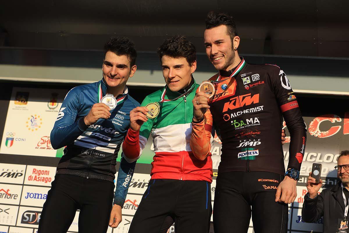 Campionato Italiano di Ciclocross Elite vinto da Jakob Dorigoni (foto Fabiano Ghilardi)