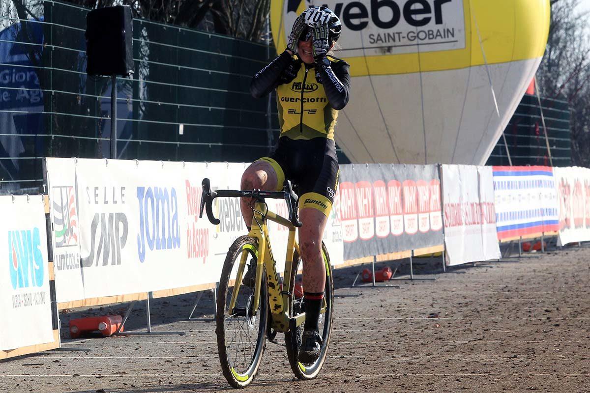 Francesca Baroni vince il Campionato Italiano di Ciclocross Donne Under 23 (foto Fabiano Ghilardi)