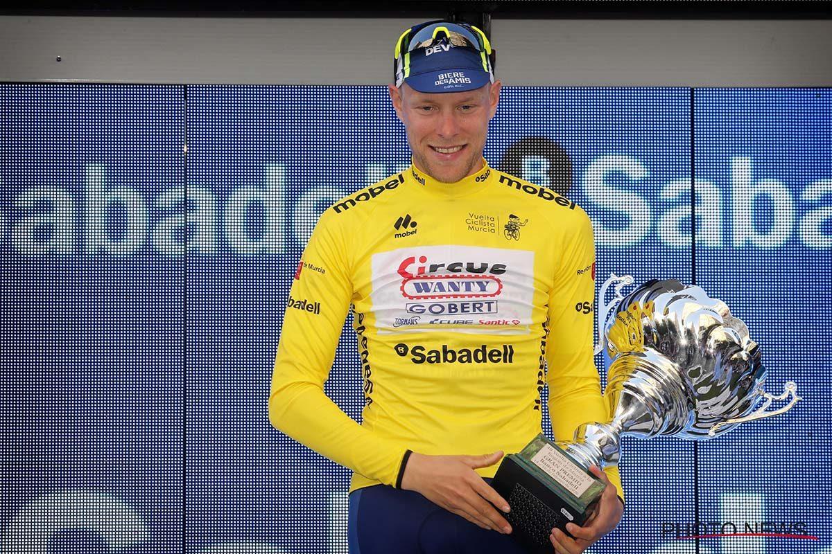 Xandro Meurisse vince la Vuelta a Murcia 2020 (foto Photo News)