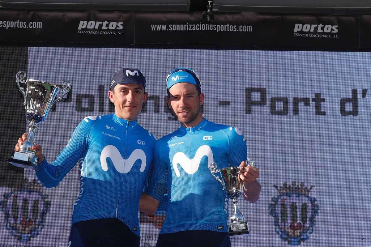 Marc Soler e Davide Villella protagonisti al Trofeo Pollença-Port d'Andratx (foto Photo Gomez Sport)