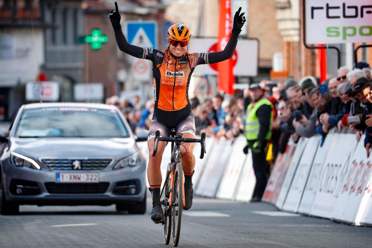 Chantal Blaak Van Den Broek vince per distacco Le Samyn des Dames 2020